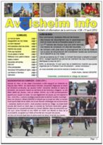 Bulletin Municipal n° 28 - Avril 2012
